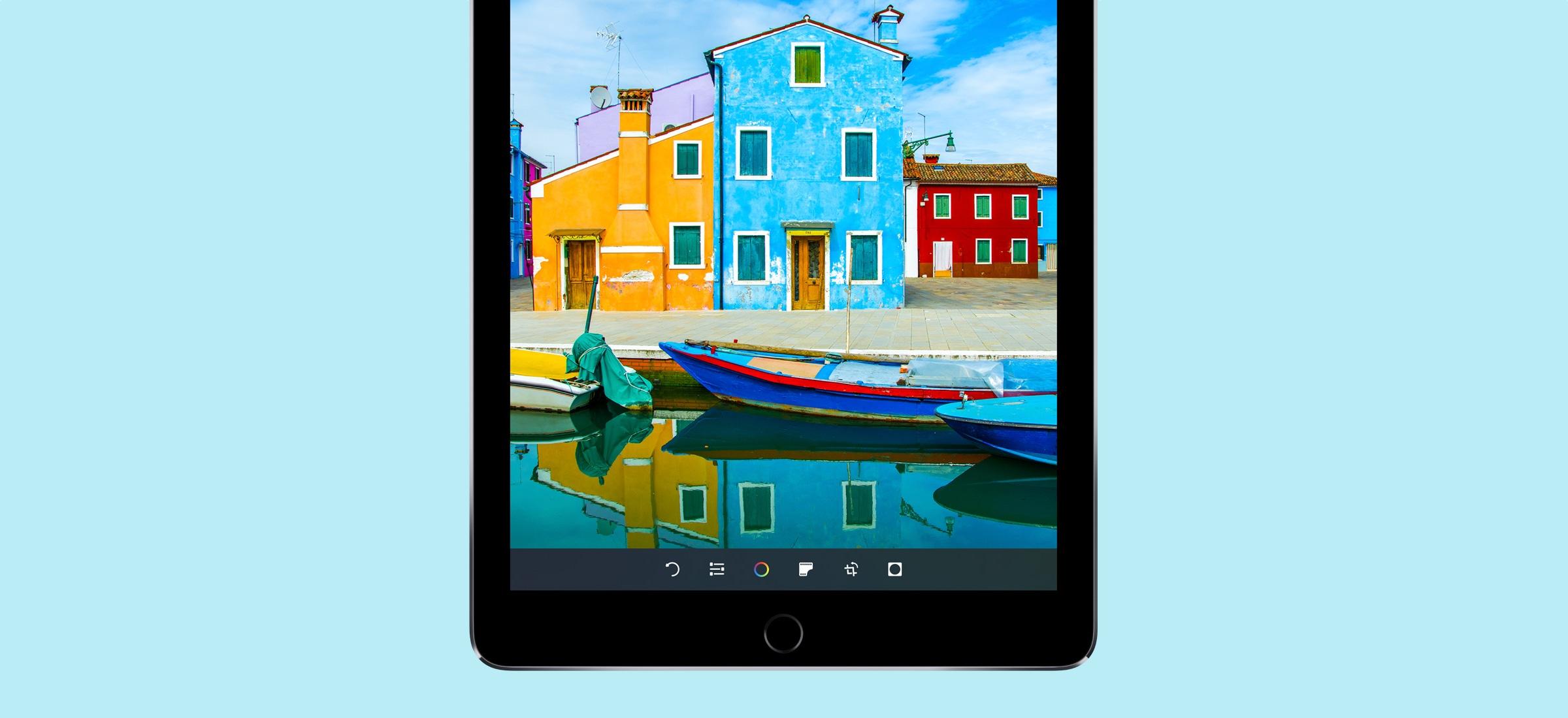 Tela do iPad Pro de 9,7 polegadas