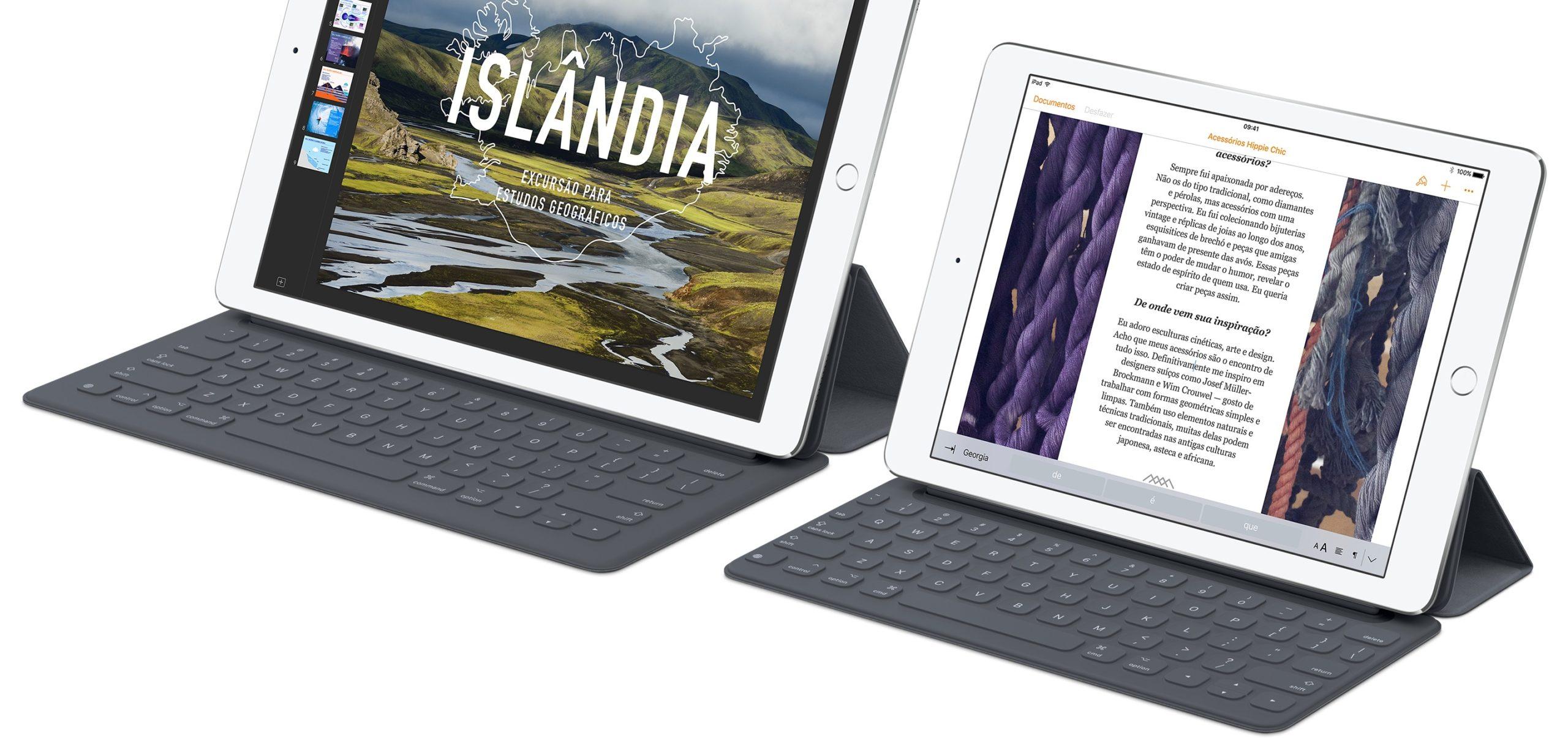 Smart Keyboard para iPads Pro