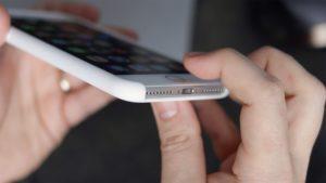 Reiniciando o iPhone 7