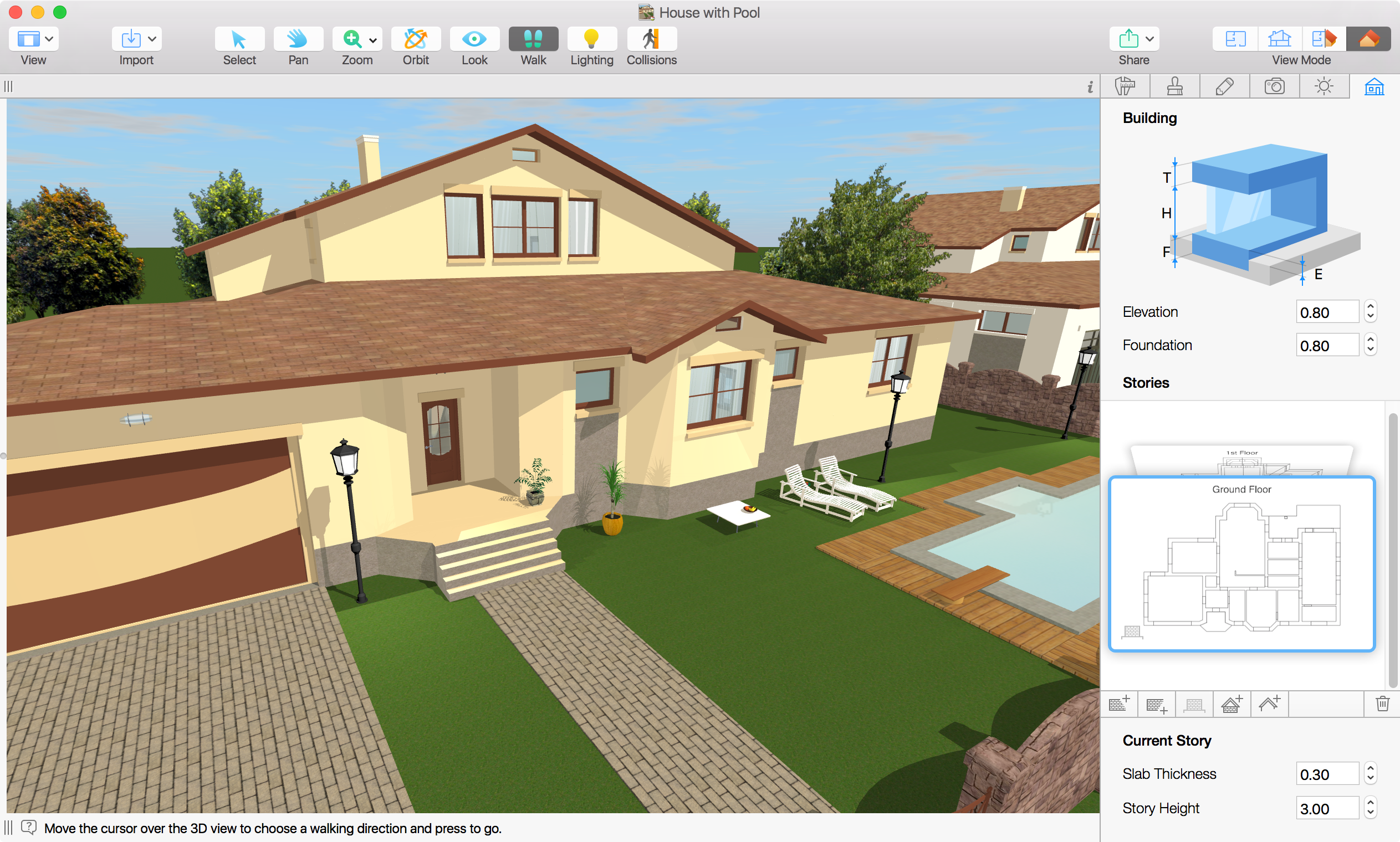 Screenshot do Live Home 3D