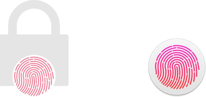 Ícones do Touch ID encontrados no macOS Sierra 10.12.1