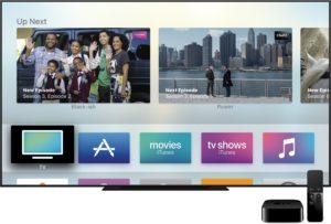 Ícone do novo app TV na tela inicial da Apple TV