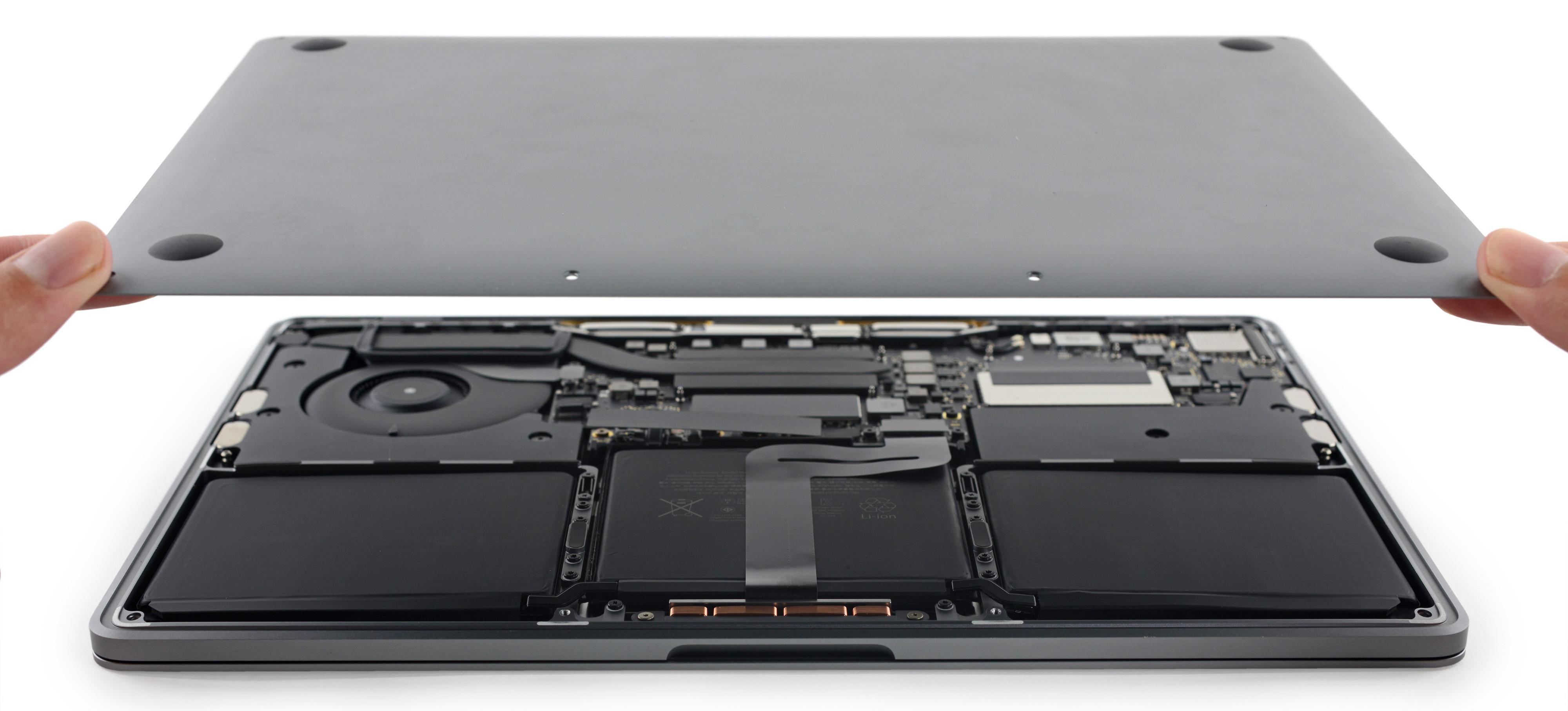 Desmonte do novo MacBook Pro