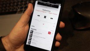 Shuffle no Música do iOS 10