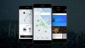 Novo app do Uber