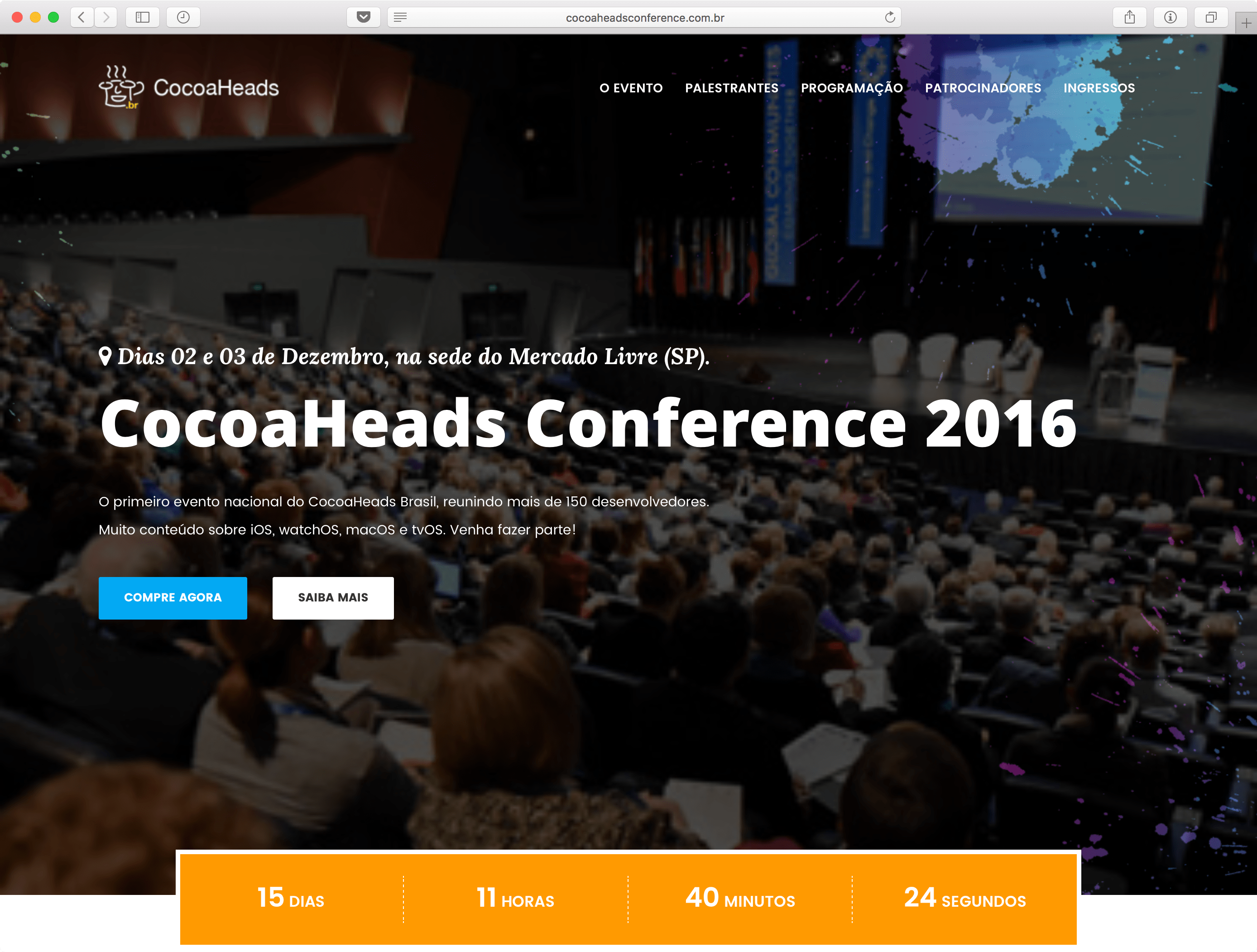 Cocoaheads Conference 2016