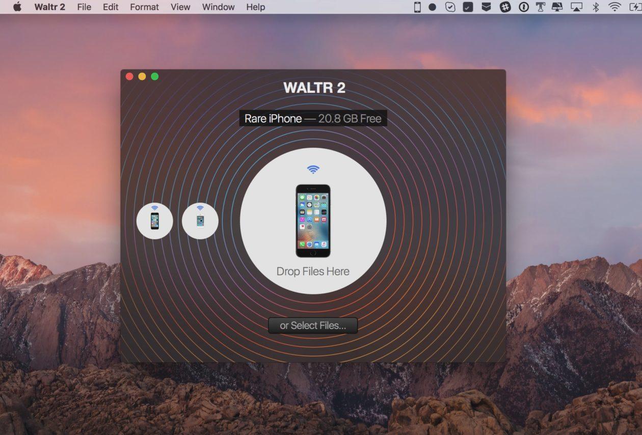 WALTR 2, para Mac, é a forma mais fácil de transferir arquivos e mídias para seu iGadget (ou mesmo seu velho iPod)