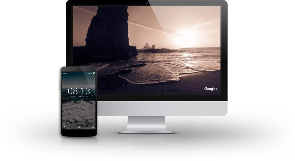 Google Featured Photos screensaver for Mac