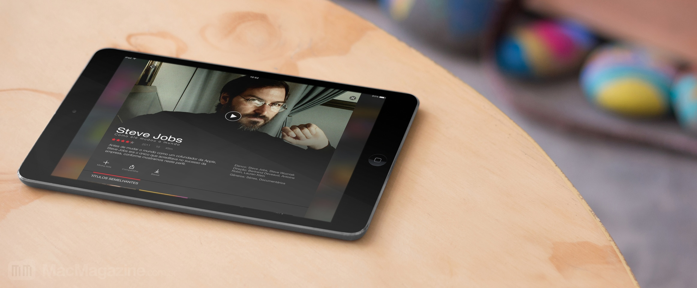 Netflix offline no iPad