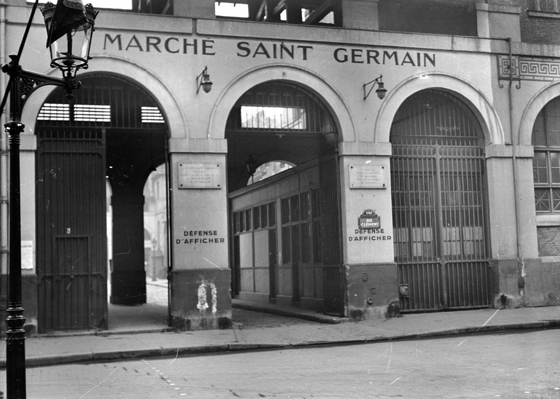 O antigo mercado Foire Saint-Germain
