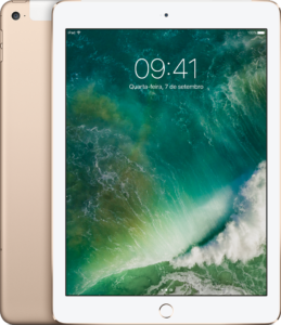iPad Air 2 dourado Wi-Fi + Cellular