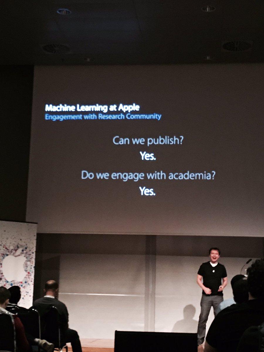 Apple Inteligencia Artificial Conferência
