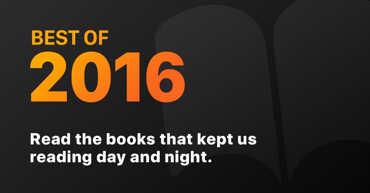 O melhor de 2016 em livros