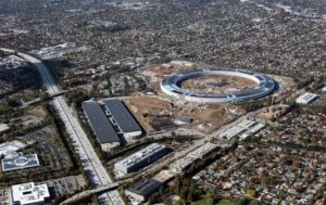 Apple Campus 2 visto de cima