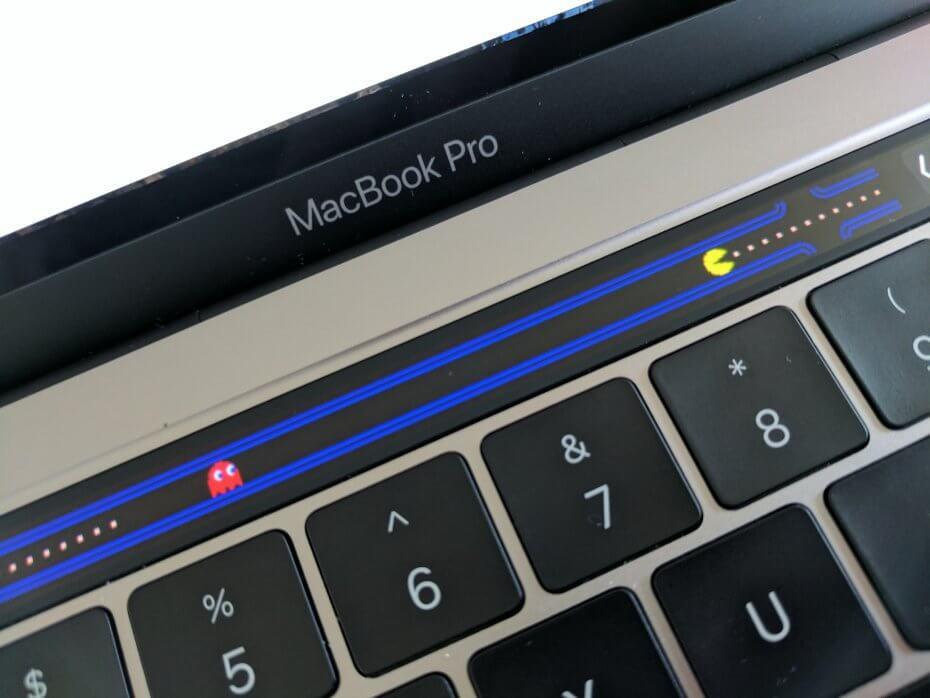 Pac Bar para Touch Bar