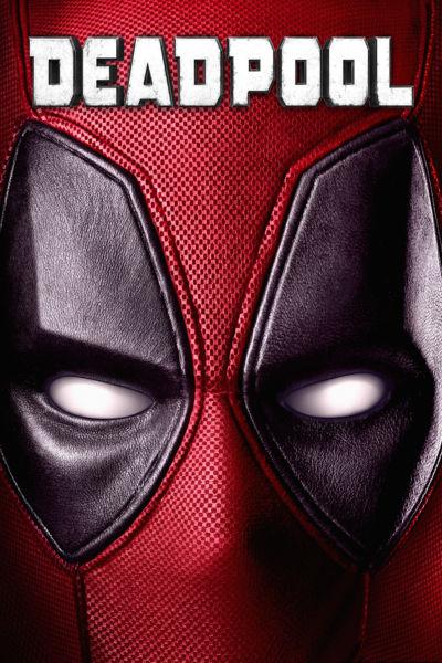 "Pôster do filme ""Deadpool"""