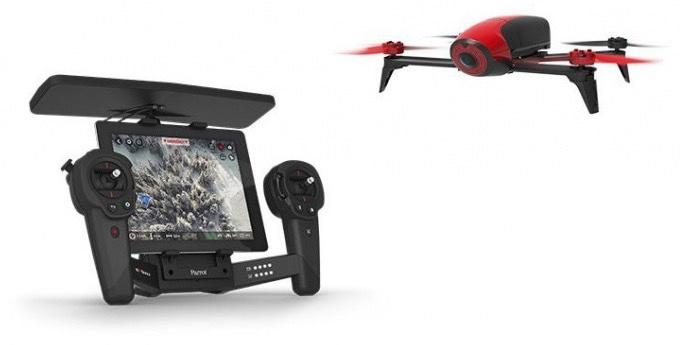BEBOP DRONE 2 com Controlador de Voo, da Parrot