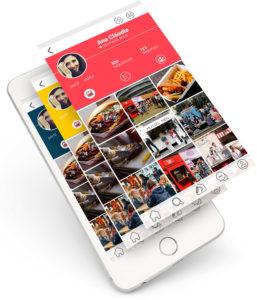 Mykind, rede social de comida de rua