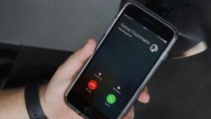 Anunciando ligações