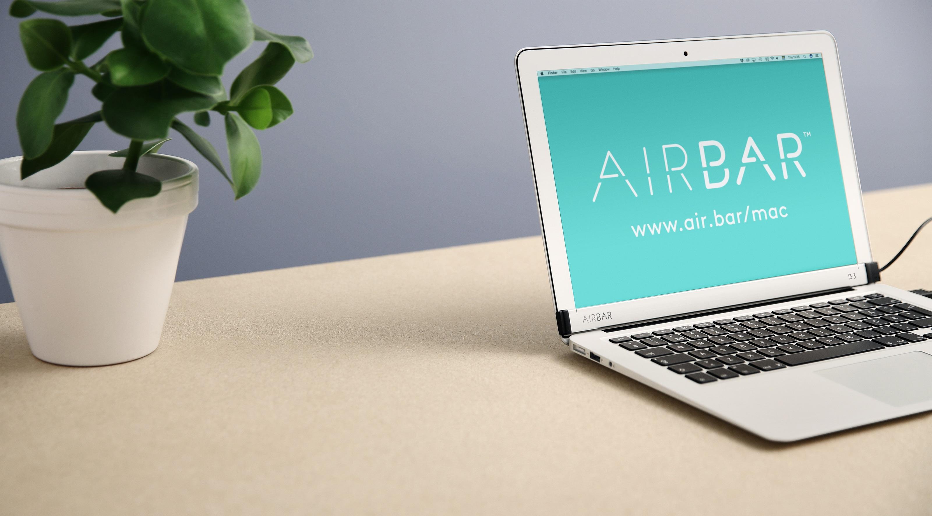 AirBar no MacBook Air