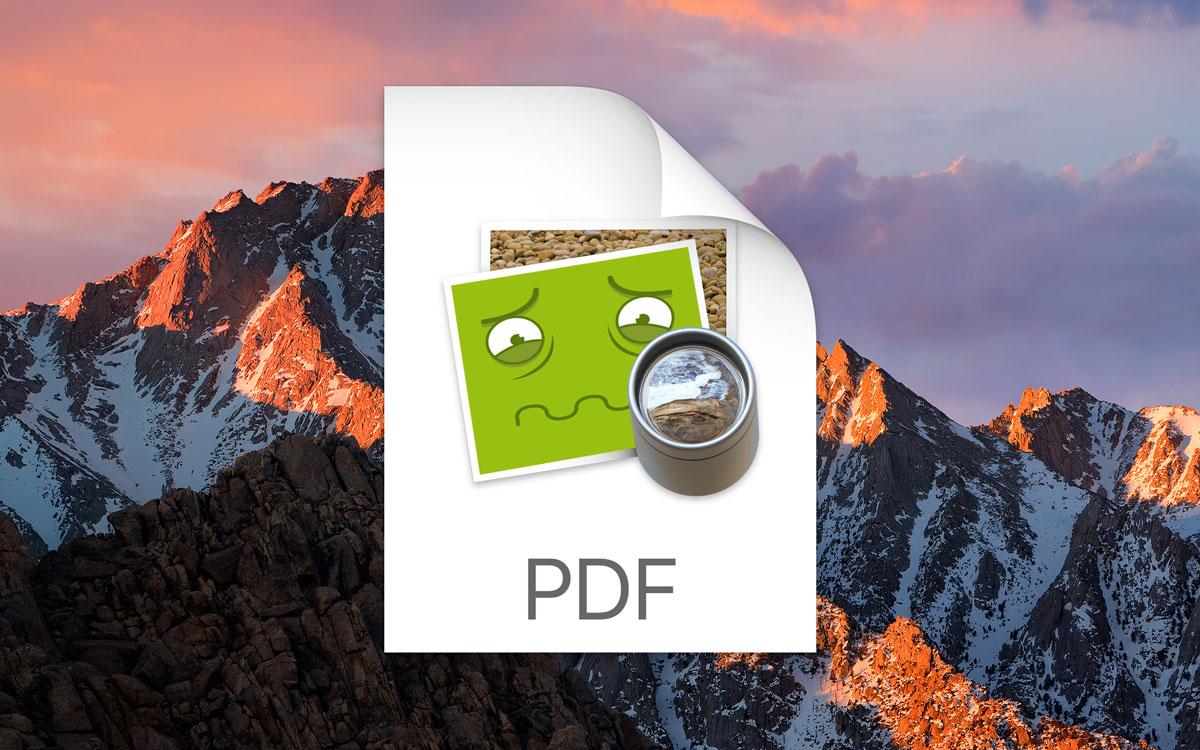 Bugs no PDFKit do macOS Sierra
