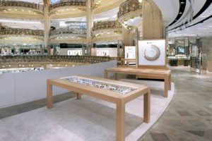 Loja do Apple Watch dentro da Galeries Lafayette