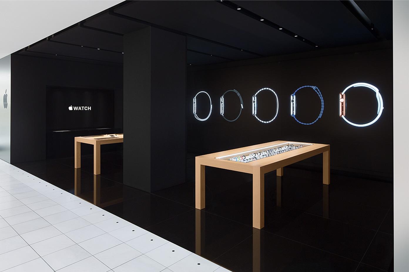 Loja do Apple Watch dentro do Isetan Shinjuku