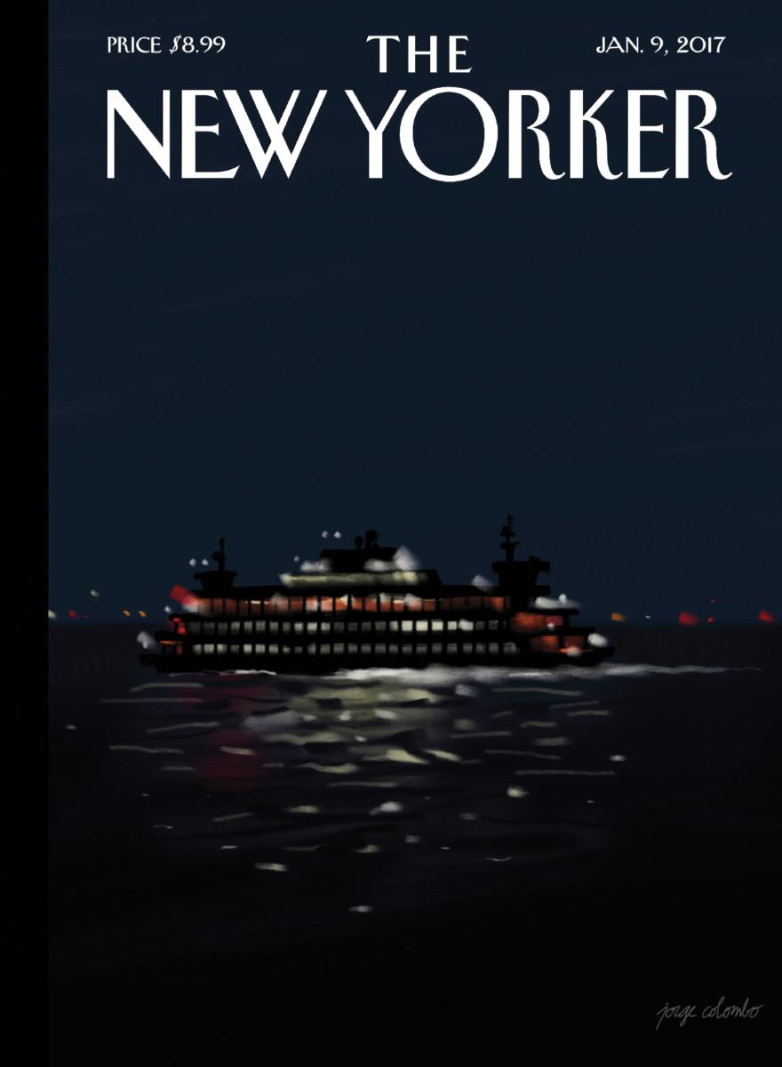 Capa da revista New Yorker