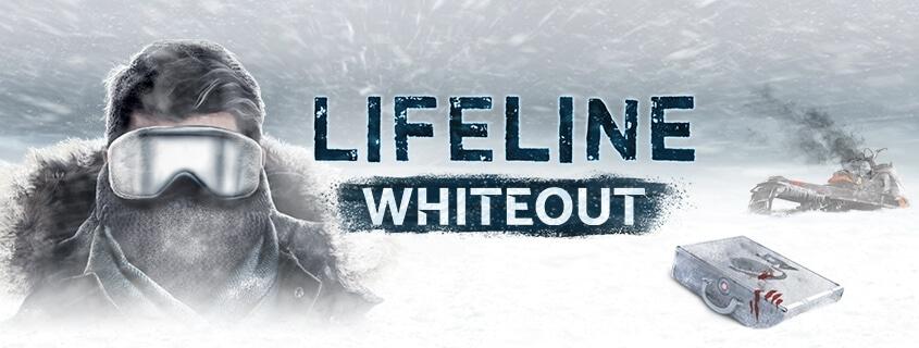 Banner do jogo Lifeline: Whiteout para iOS e watchOS