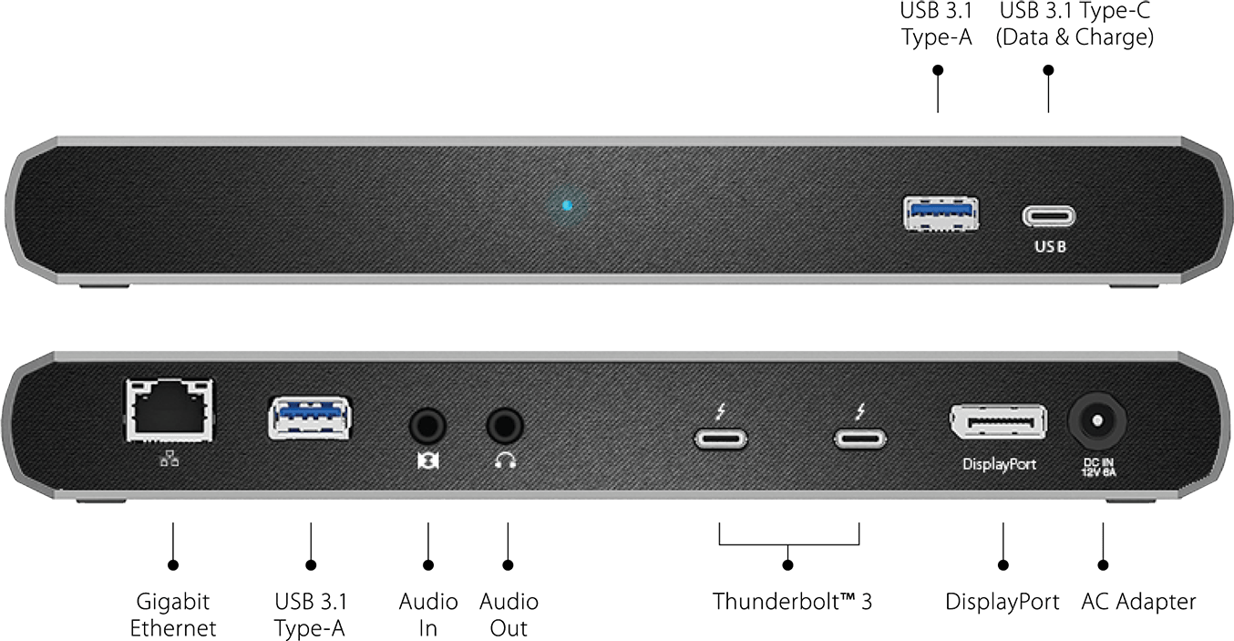 TS3 Lite dock da CalDigit