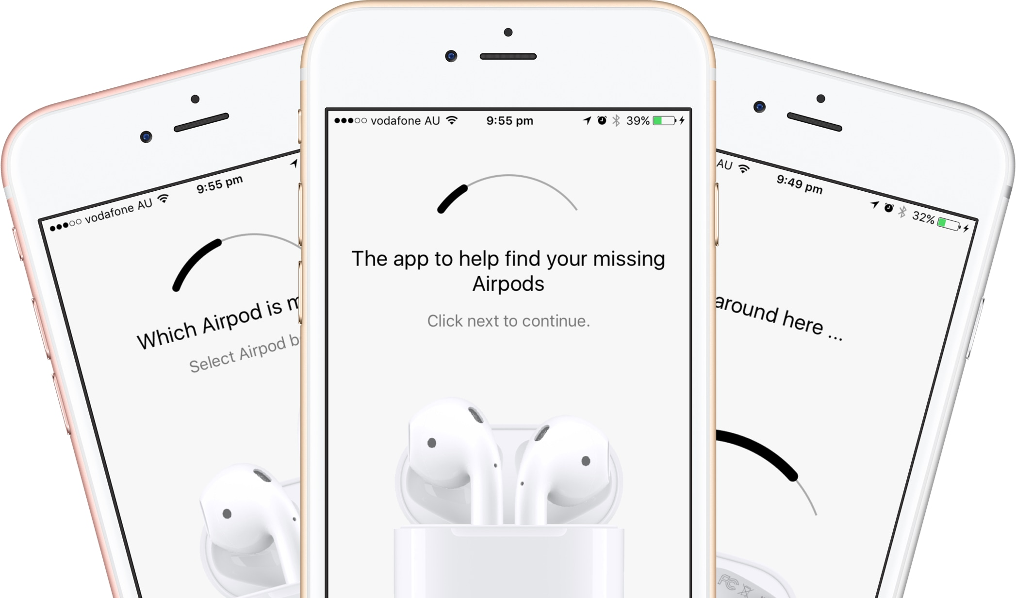 App Finder for Airpods para iOS