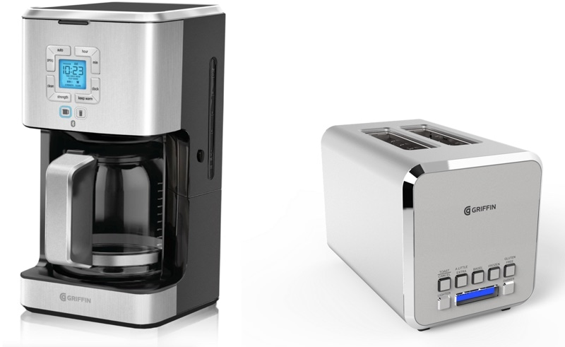 Griffin Connected Coffeemaker e Toaster