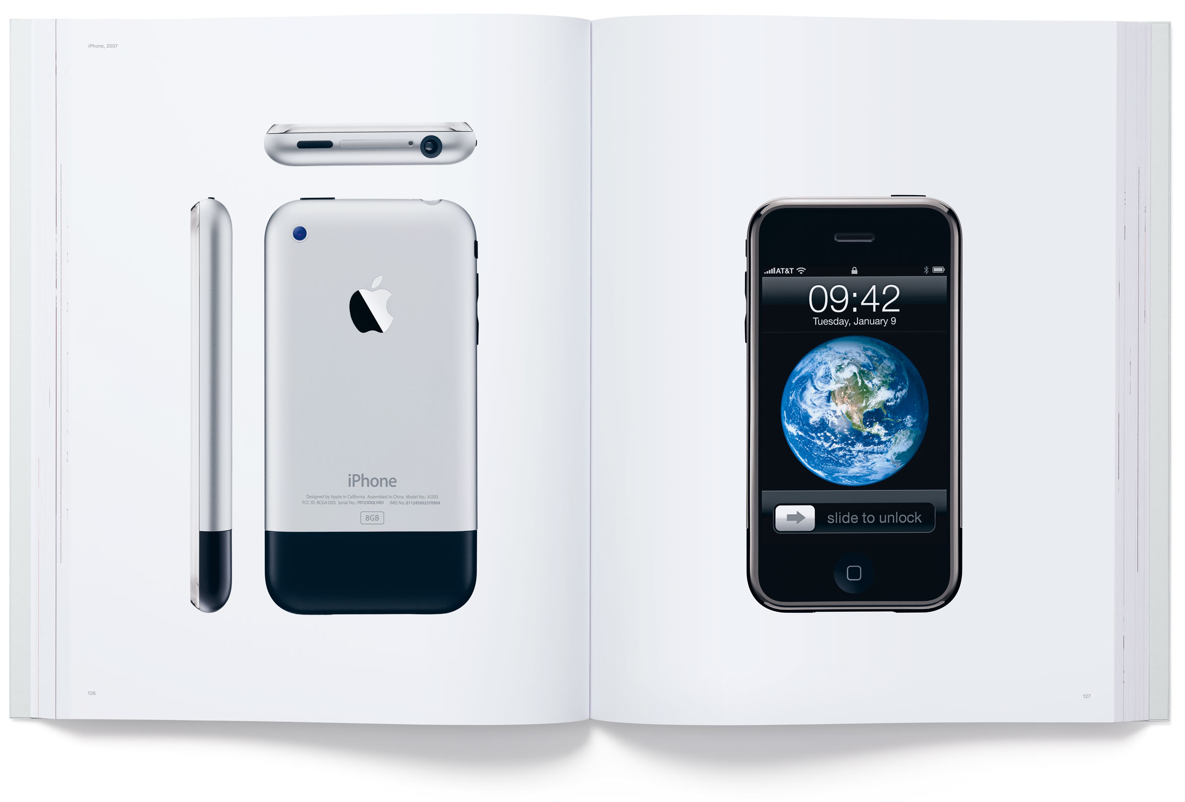 "Livro ""Designed by Apple in California"""
