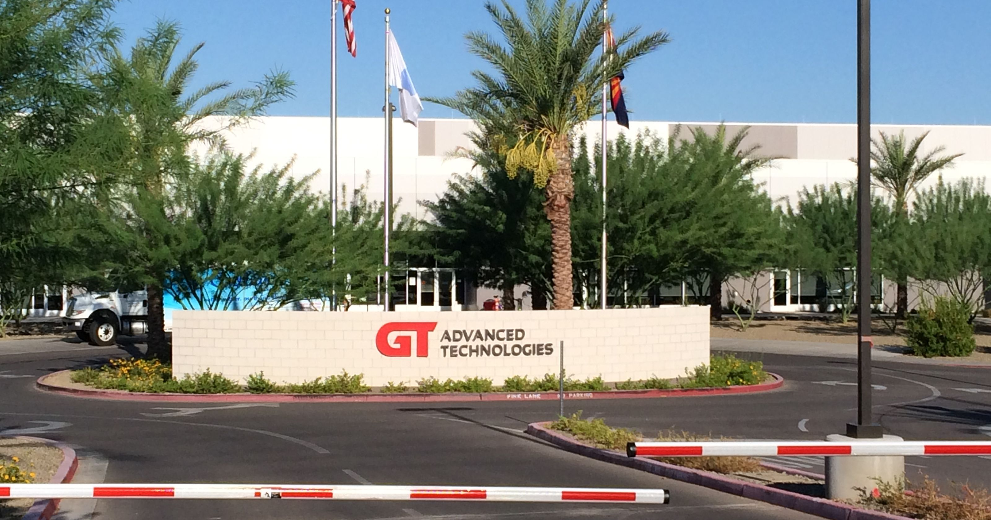 Antiga fábrica da GT Advanced