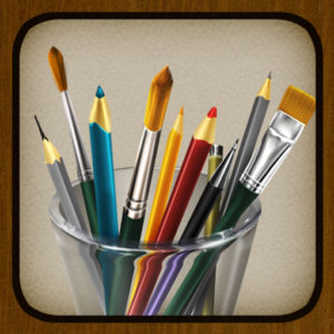 Ícone do app MyBrushes para iOS