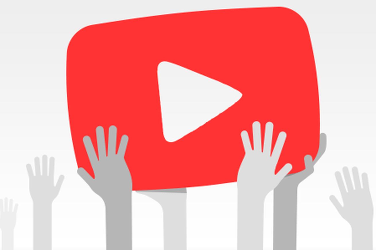 Imagem promocional do YouTube