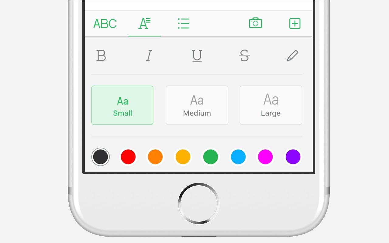 Evernote para iOS Versão 8.0