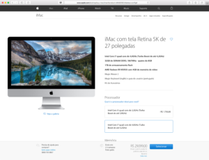 iMac configurado até o talo