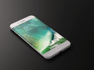 Conceito de iPhone 8 ou iPhone X