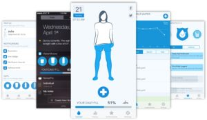 App WaterMinder para iOS