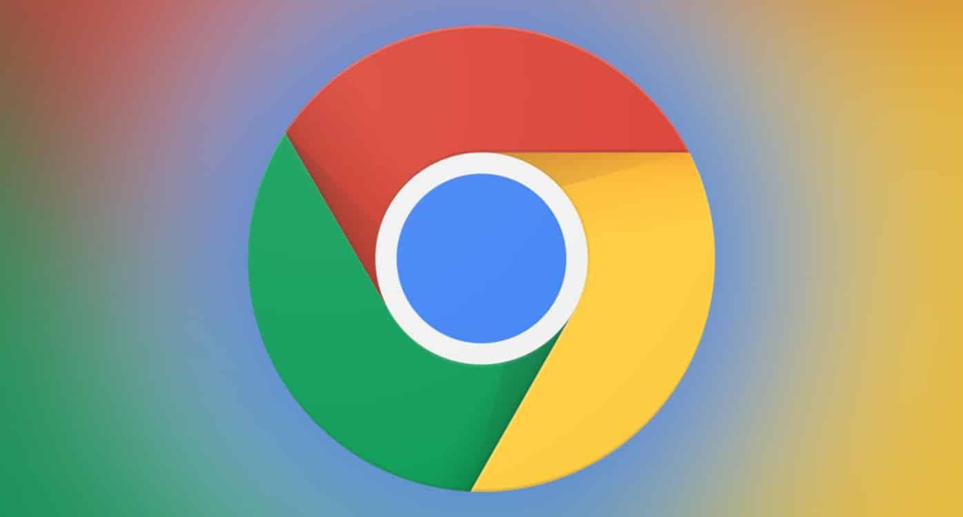 Gráfico com o ícone do Google Chrome