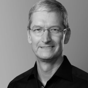 Retrato de Tim Cook para o Newseum