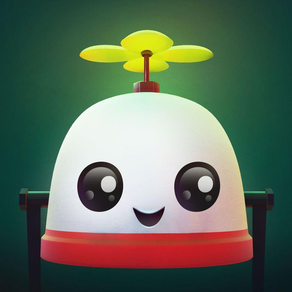 Ícone do jogo Roofbot para iOS