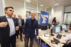 Le Figaro Tim Cook