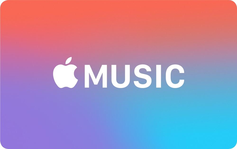 Gift Card do Apple Music