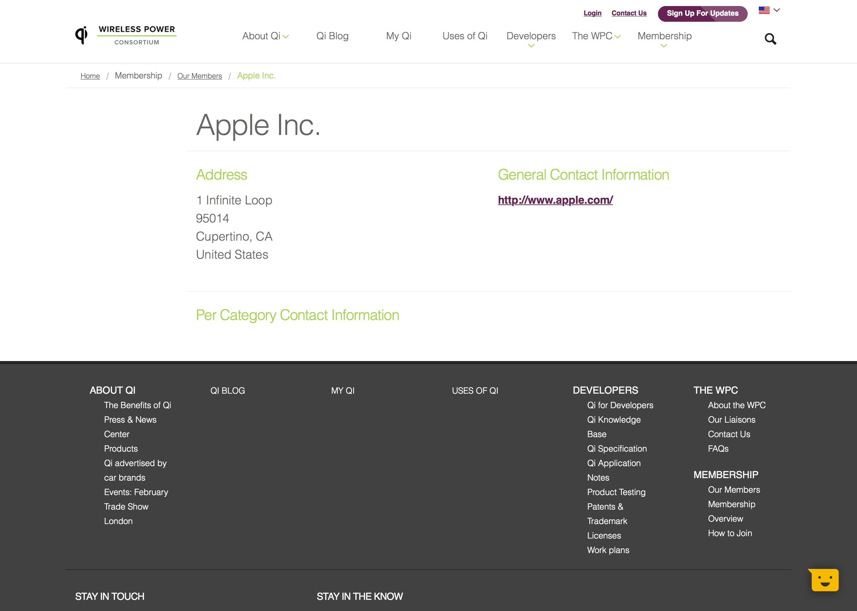 Apple na lista do Consórcio de Carregamento Sem Fio