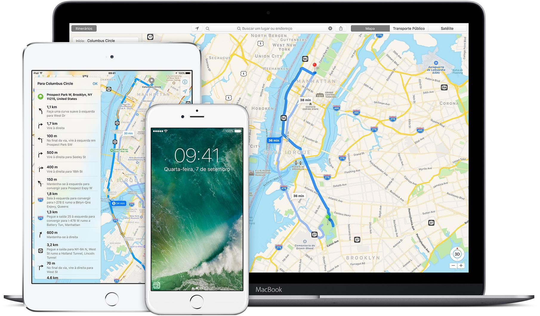 Mapas da Apple