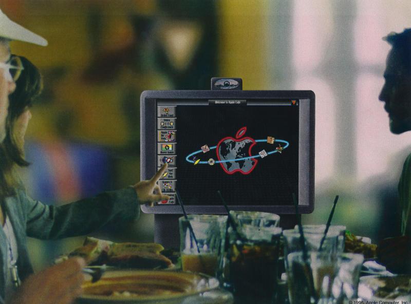 Projeto do Apple Cafe, datado de 1996