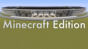 Apple Campus 2 no Minecraft