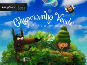 Livro Chapeuzinho Verde para iOS